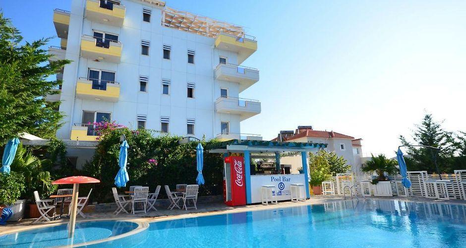 6 milje hotel ksamil rh 6 milje hotel sarande hotels al com
